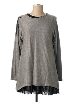Pull/jupe gris MAYORAL pour fille