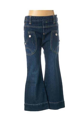 Jeans bootcut bleu MAYORAL pour fille
