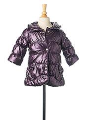 Doudoune violet 3 POMMES pour fille seconde vue