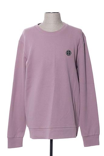 Sweat-shirt rose PREMIUM DE JACK AND JONES pour homme