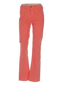 Pantalon casual orange LEE COOPER pour femme