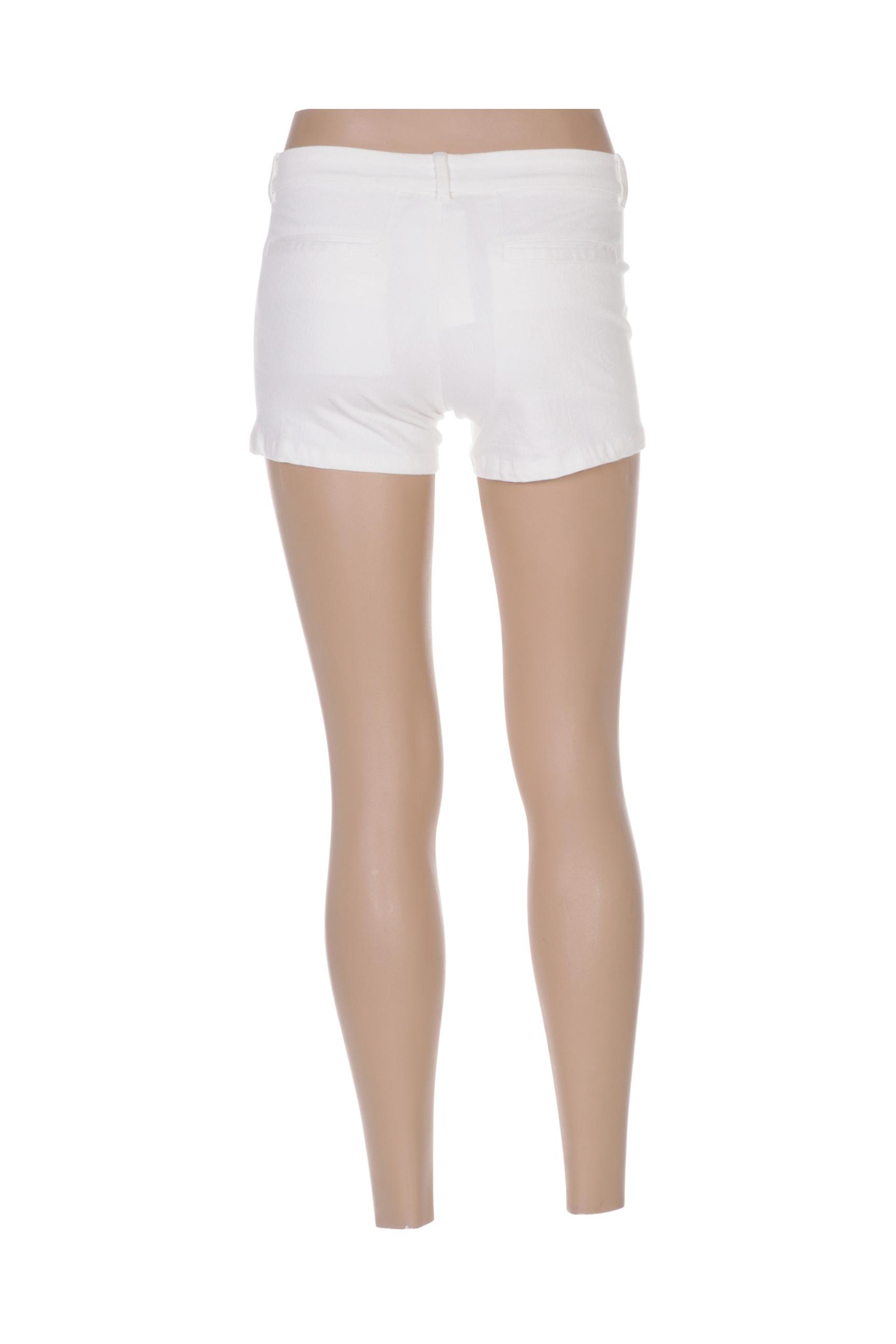 Intropia Shorts 1 Femme De Couleur Blanc En Soldes Pas Cher 1428305-blanc0
