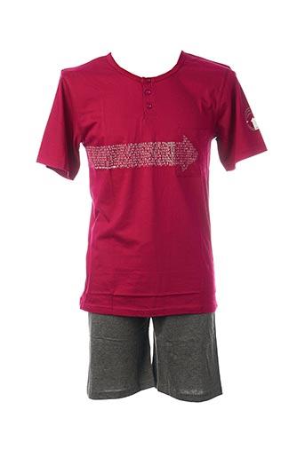Pyjashort rose ROSE POMME pour homme
