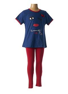 Pyjama bleu ROSE POMME pour fille