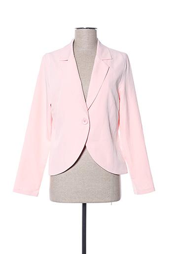 Veste chic / Blazer rose A BELLE pour femme