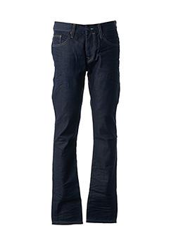 Jeans coupe droite bleu PETROL INDUSTRIES pour homme