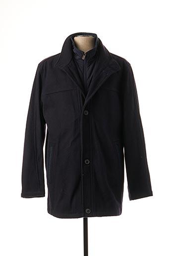 Manteau long bleu PETER COFOX pour homme