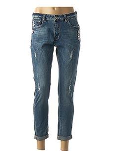 Jeans coupe slim bleu ECLIPSE pour femme