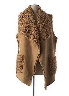 Veste casual beige ECLIPSE pour femme