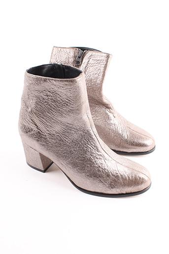 Bottines/Boots beige CRAIE pour femme