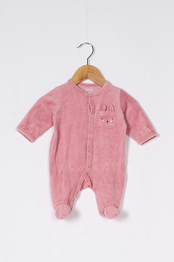 Pyjama rose KIABI pour fille
