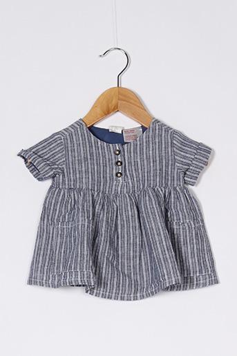 Robe mi-longue bleu H&M pour fille