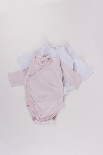 Body lingerie rose MONOPRIX pour fille