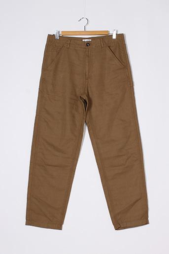Pantalon casual marron LACOSTE pour homme