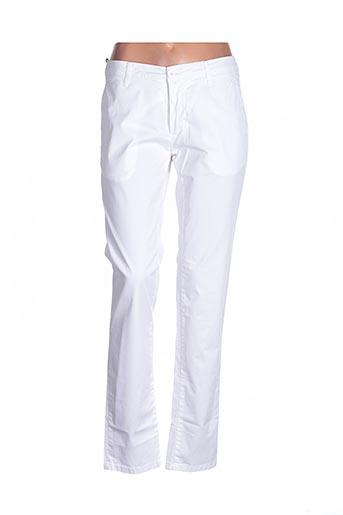 Pantalon casual blanc BLY03 pour homme