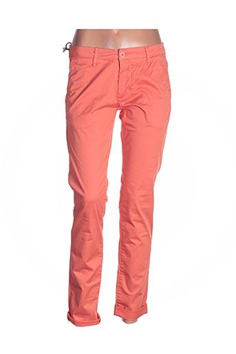 Pantalon casual orange BLY03 pour homme