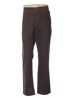 Pantalon casual marron GIANNI MARCO pour homme