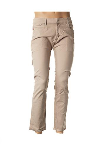 Pantalon casual beige KILIWATCH pour homme