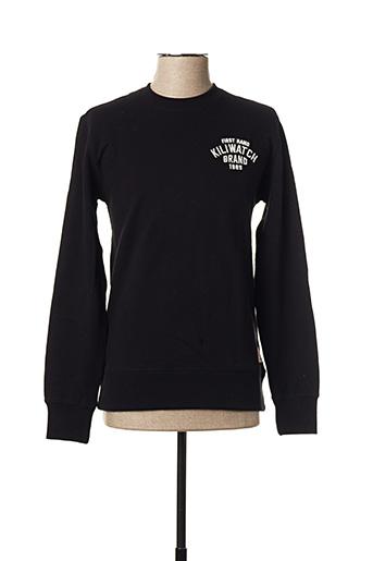 Sweat-shirt noir KILIWATCH pour homme