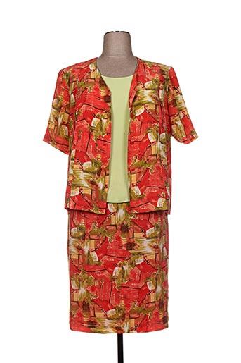 Veste/jupe rouge GUY DUBOUIS pour femme