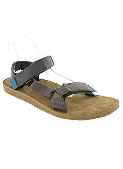 Sandales/Nu pieds gris TEVA pour homme