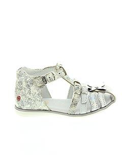 Sandales/Nu pieds gris GBB pour fille