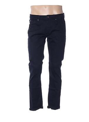 Jeans coupe droite bleu TIFFOSI pour homme