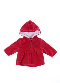 Veste casual rouge 3 POMMES pour fille