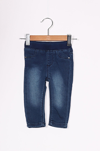 Jeans coupe slim bleu 3 POMMES pour fille