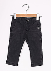 Jeans coupe slim noir 3 POMMES pour garçon seconde vue