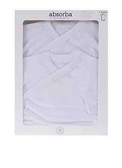 Body lingerie blanc ABSORBA pour fille