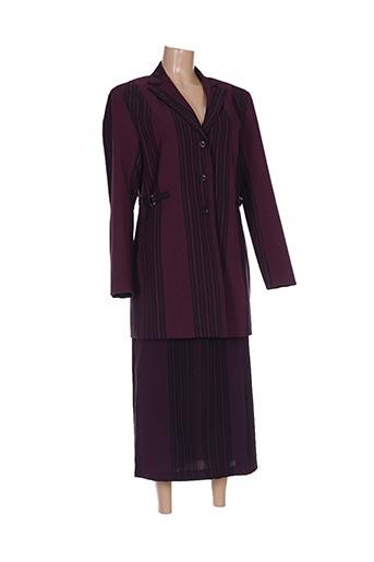 Veste/pantalon rose BLANCHEPORTE pour femme