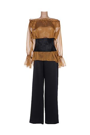 Top/pantalon noir MATRIMONIA pour femme