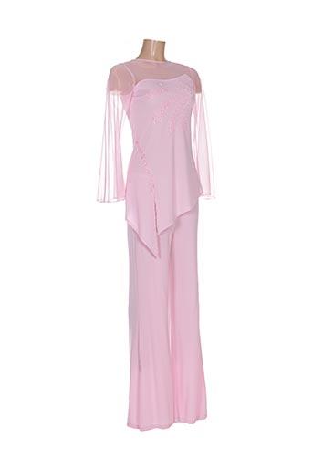 Top/pantalon rose GOLD & LINE pour femme