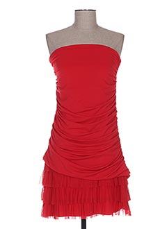 Robe mi-longue rouge BODY FLIRT pour femme