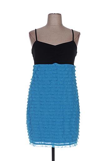Robe mi-longue bleu BON PRIX pour femme
