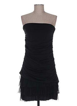 Robe mi-longue noir BODY FLIRT pour femme