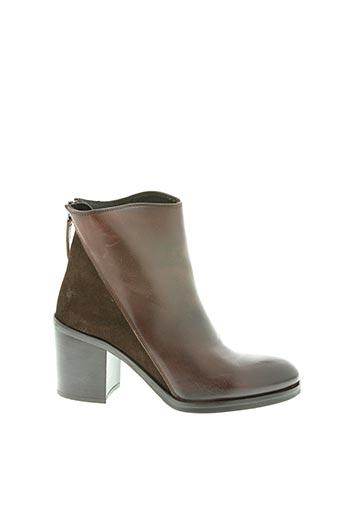 Bottines/Boots marron BEMOOD pour femme