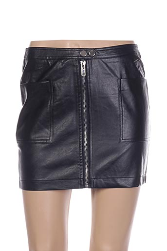 Mini-jupe noir FANCY pour femme