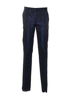 Pantalon chic bleu CARLO PIGNATELLI pour homme