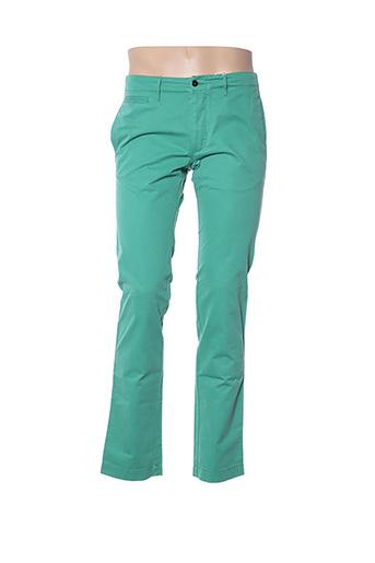 Pantalon casual vert HARTFORD pour homme