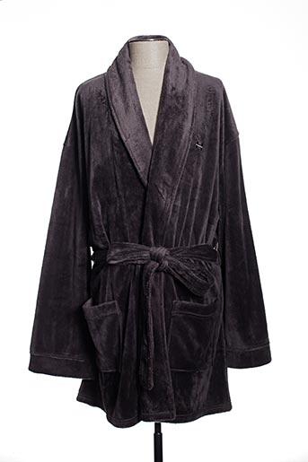 Robe de chambre gris HOM pour femme