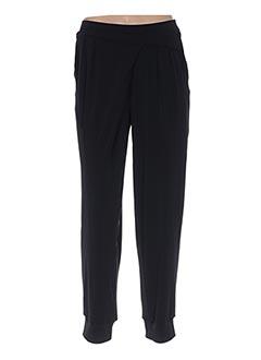 Pantalon casual noir LE PETIT BAIGNEUR pour femme