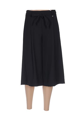 Jupe mi-longue noir CRISTINA GAVIOLI pour femme