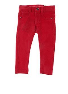 Pantalon casual rouge MAYORAL pour fille