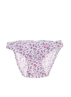 Bas de maillot de bain rose WEEK END A LA MER pour fille