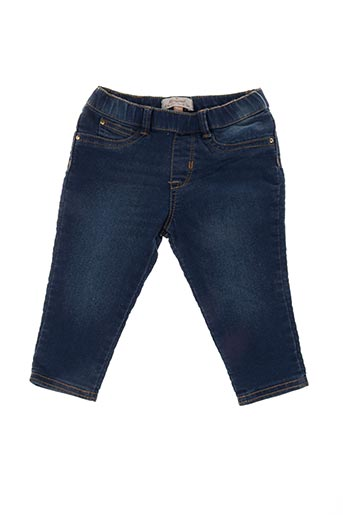 Jeans coupe droite bleu MAYORAL pour fille