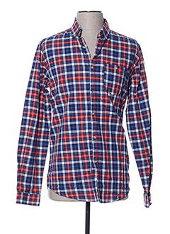 Chemise manches longues rouge NUKUTAVAKE pour garçon