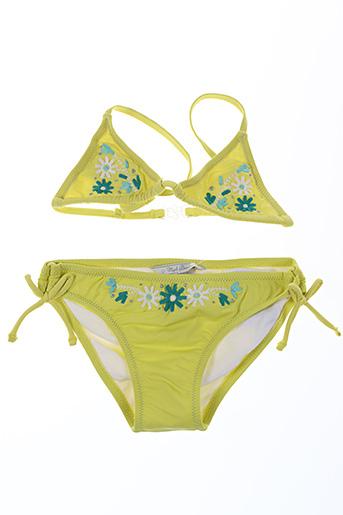 Maillot de bain 2 pièces vert MAYORAL pour fille