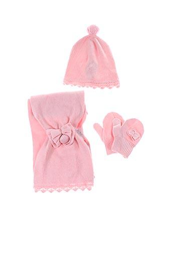Bonnet rose MAYORAL pour fille